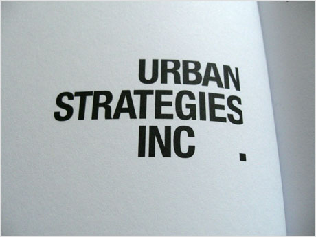 Urban Strategies logo design