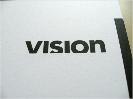 Vision logo design