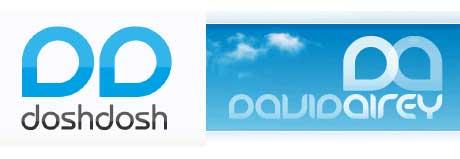 Dosh Dosh David Airey logos