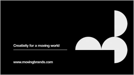 Moving Brands logo design
