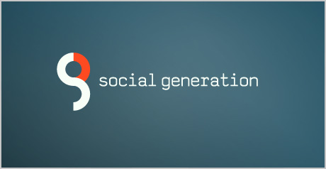 social generation logo design