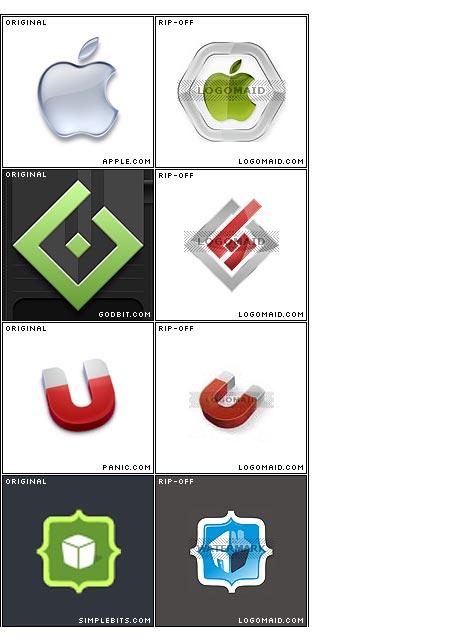 Stolen logos