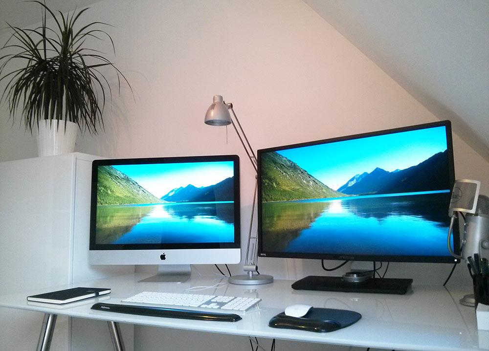 iMac versus BenQ BL3201PT