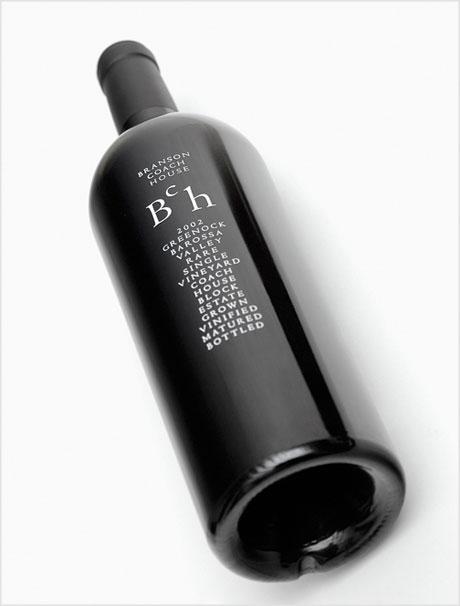 Branson Coach House bottle design