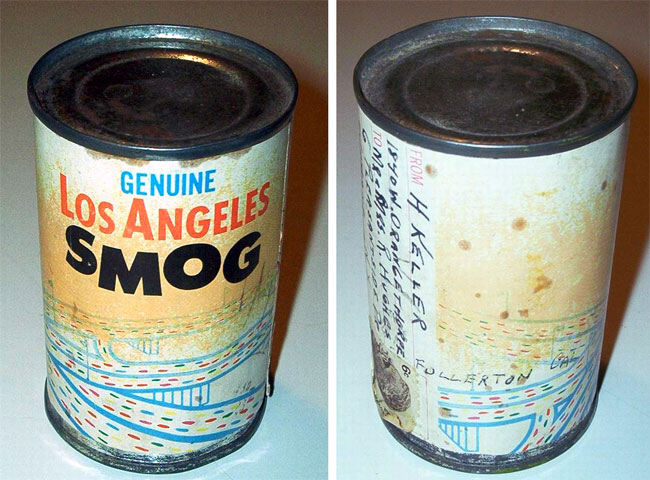 Canned smog