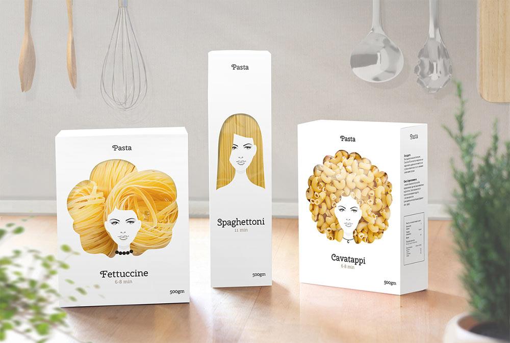 Good Hair Day Pasta packaging