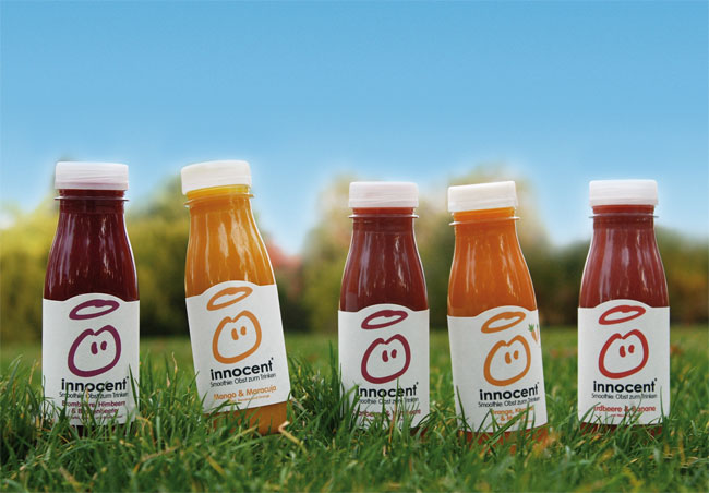 Innocent Drinks colours