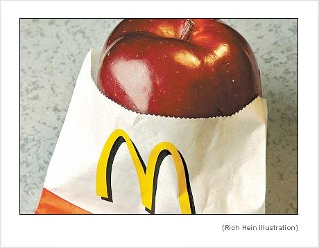 McDonalds apple