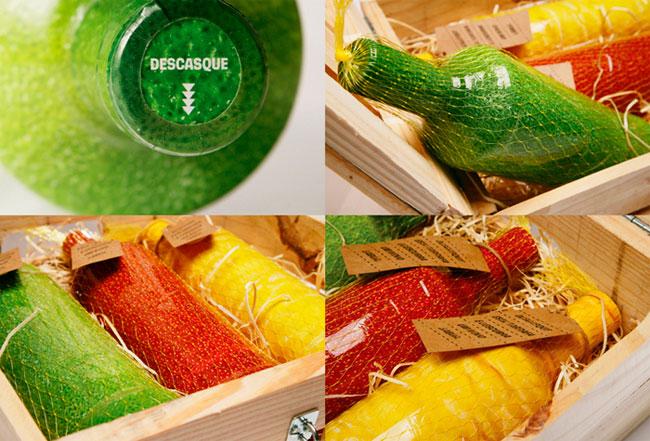 Smirnoff Caipiroska packaging design