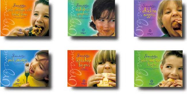Swaddles packaging design