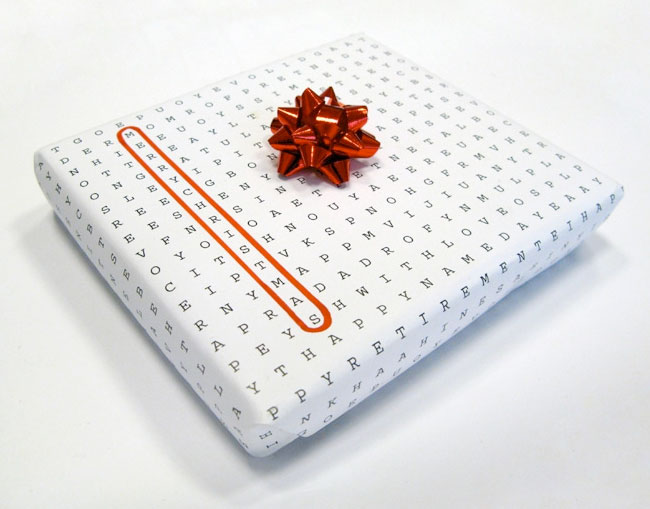 universal wrapping paper david airey
