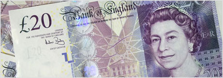 bank of England note