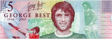 George Best bank note
