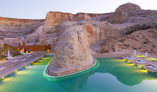 Amangiri Resort pool