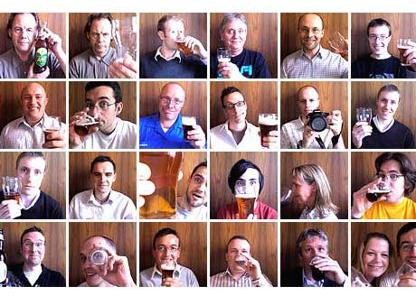 Beer 2.0 crowd Edinburgh