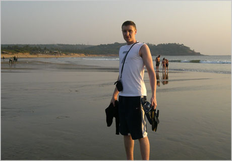 Candolim beach Goa India David Airey