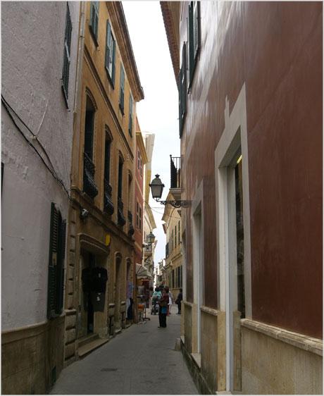 Ciutadella streets Menorca