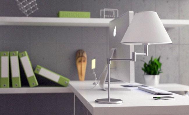 Lamp workspace