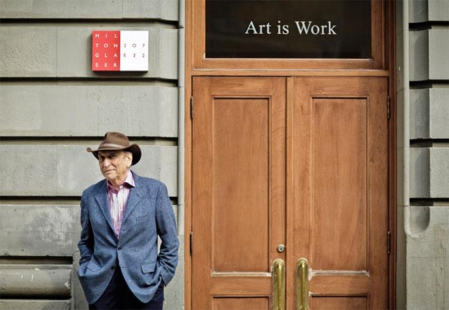 Milton Glaser, New York, 2007