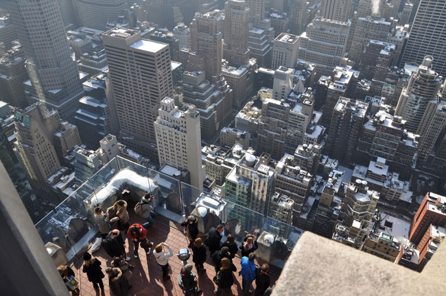 Top of the Rock viewing deck