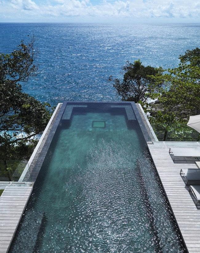 Villa Amanzi pool