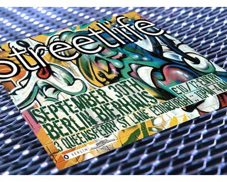 Streetlife flyer design