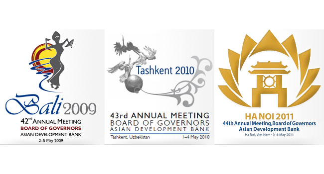 ADB Annual Meeting symbols