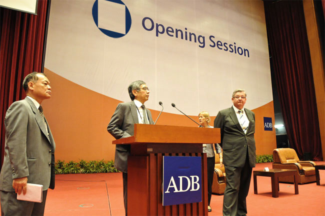 ADB opening session