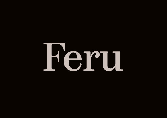 Feru brand identity
