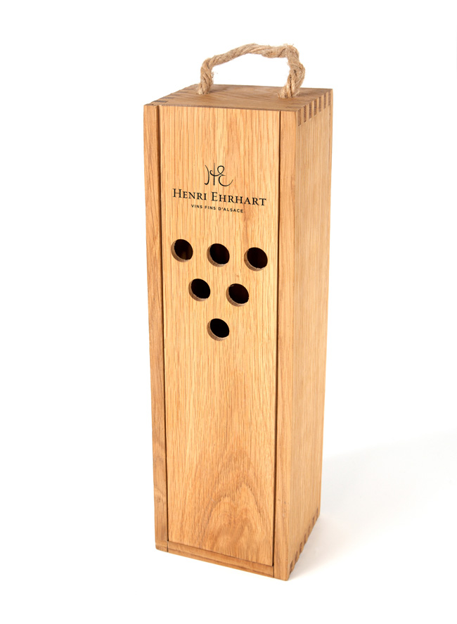 Henri Ehrhart wine box design