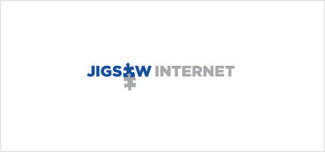 Jigsaw Internet logo design
