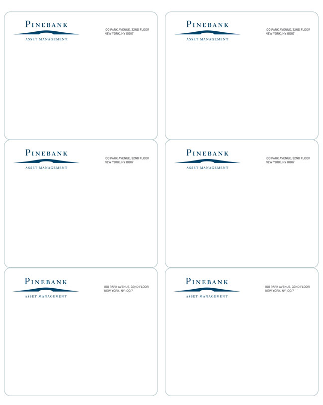 Pinebank identity design