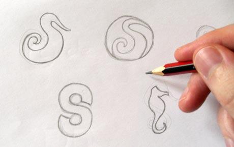 logo eskizleri