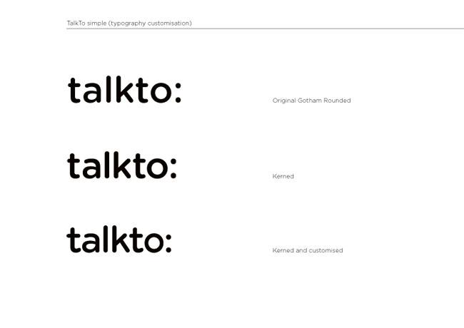 TalkTo brand identity