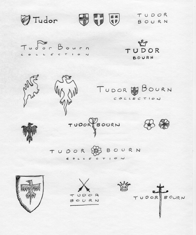 Tudor Bourn sketches