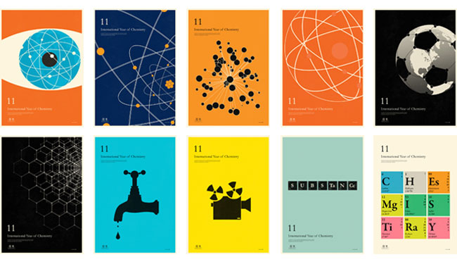 International Year of Chemistry poster series