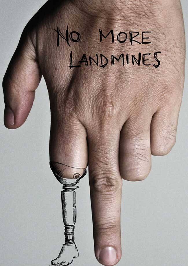 No More Landmines poster