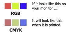 RGB CMYK