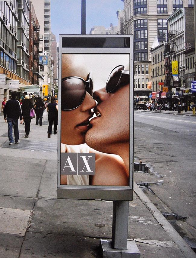 Armani Exchange billboard