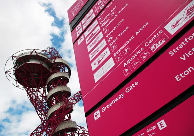 London Olympics signage