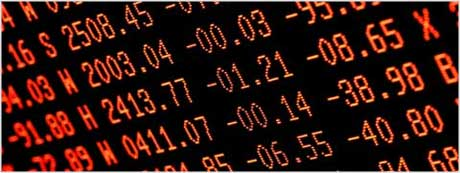 stock market numbers