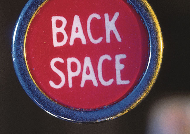 back space key