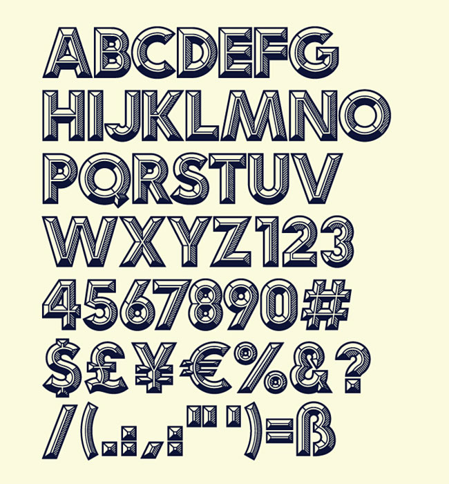 Idler typeface