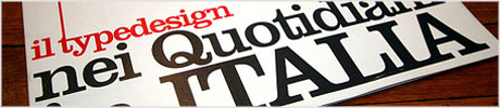 italian typography