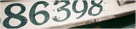 painted numbers