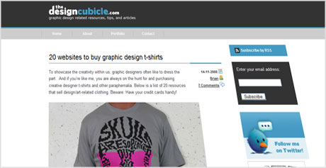 The Design Cubicle