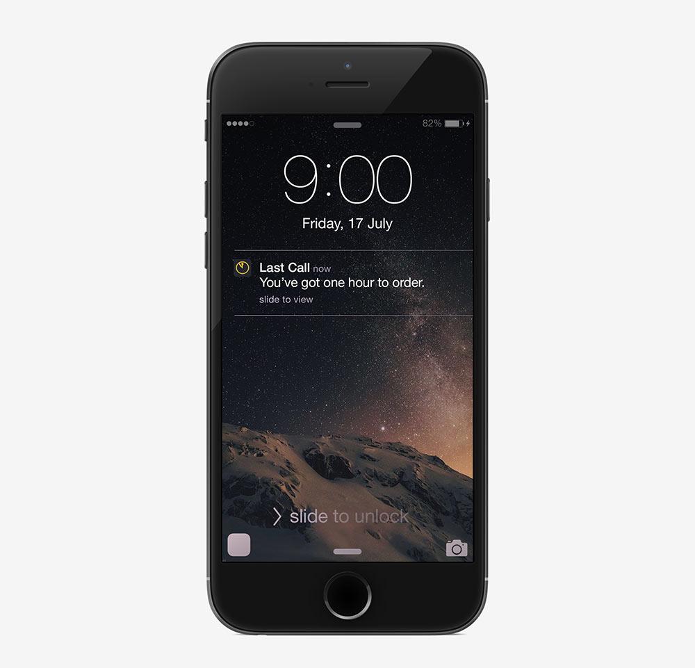 Last Call app
