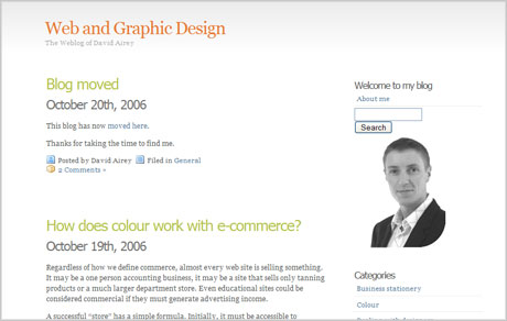 web and graphic design blog