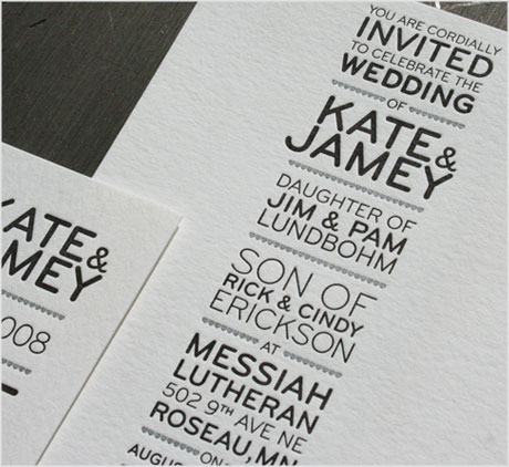 a decent proposal  david airey, Wedding invitation