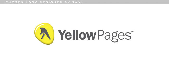 Yellow Pages logo by TAXI